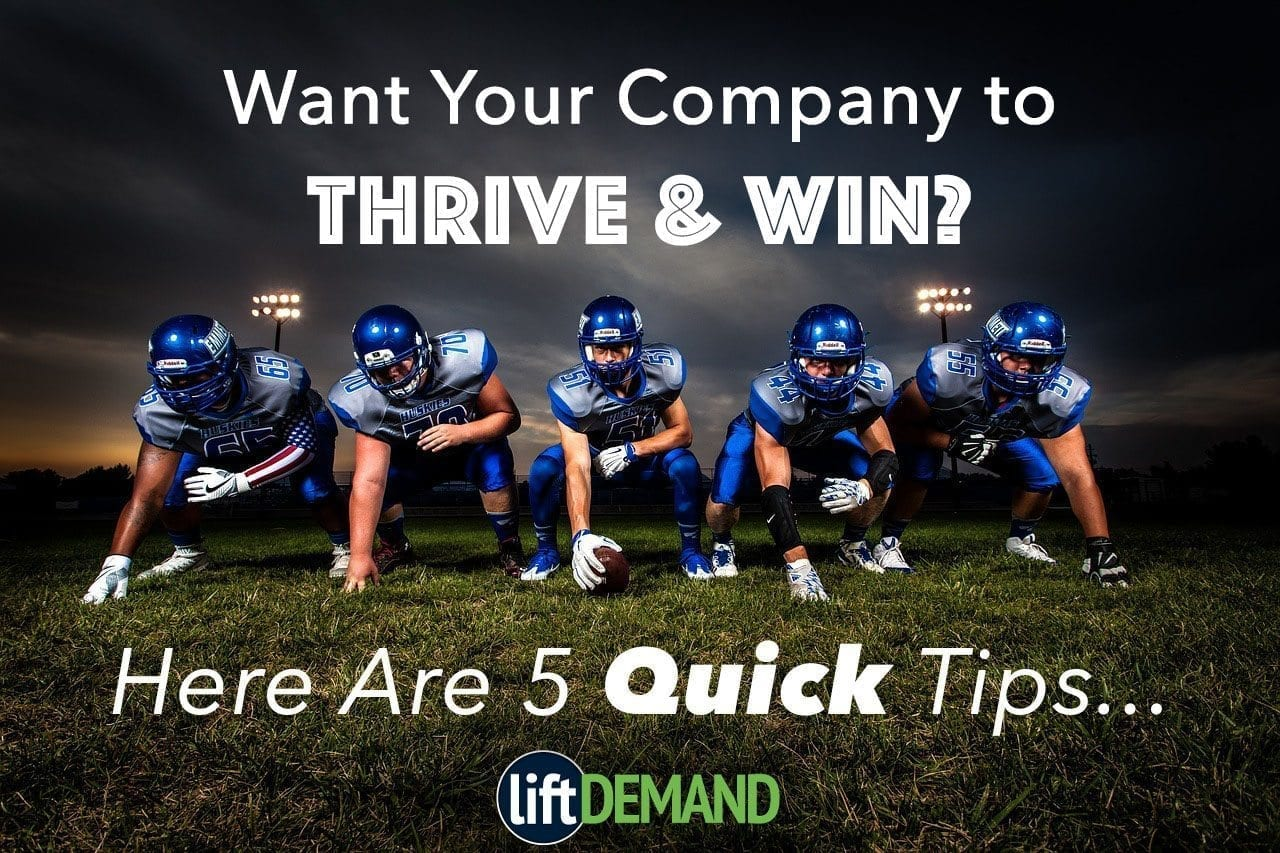 Lift Demand Thrive Win Via Internet Marketing - Demand Generation For Financial Services
