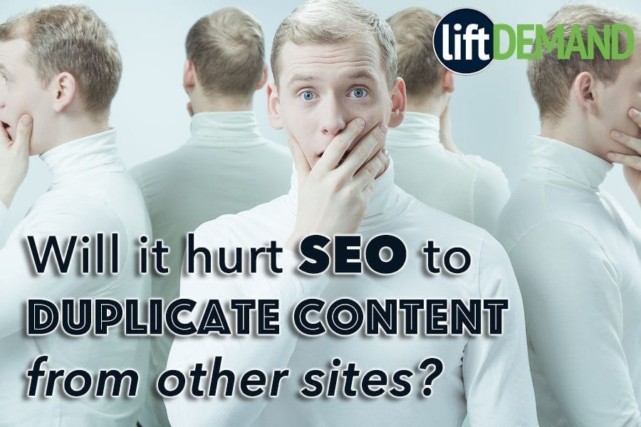 Will it hurt SEO to duplicate content from other sites?
